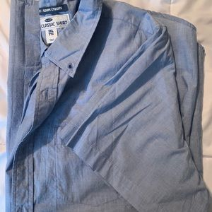Men's Short Sleeve Button Down